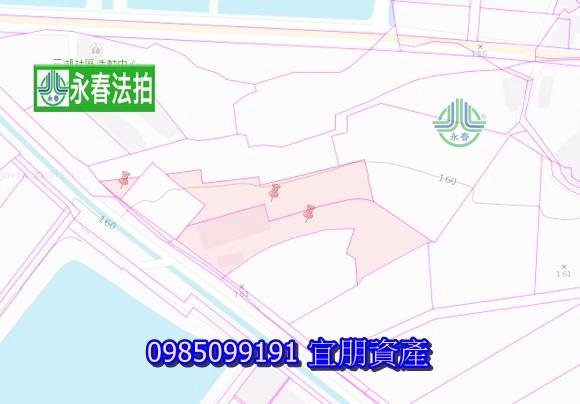 桃園楊梅法拍農地倉儲廠房楊湖路2段525巷59號佔地1774坪