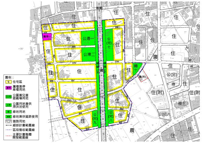 南科新市都市計畫